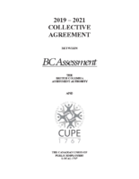 2019-2021 Collective Agreement